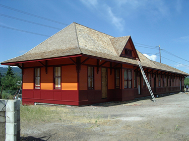 The Milwaukee Road Depot in 2003